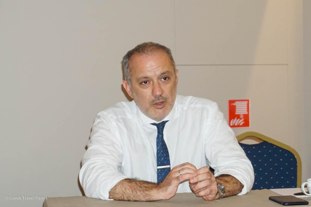 Nelios CEO Dimitris Serifis.