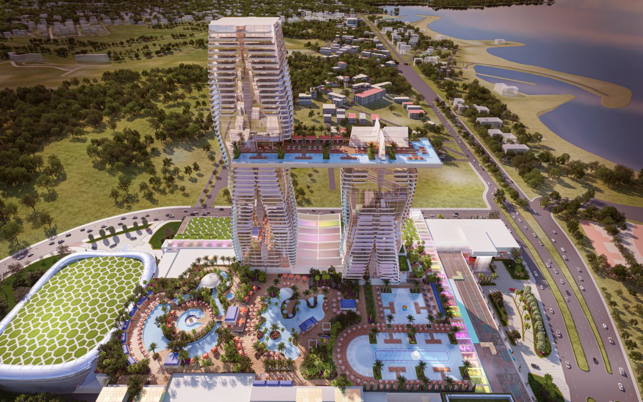 The Mohegan Gaming & Entertainment concept - named INSPIRE Athens - for the first Integrated Resort and Casino (IRC) in Greece.