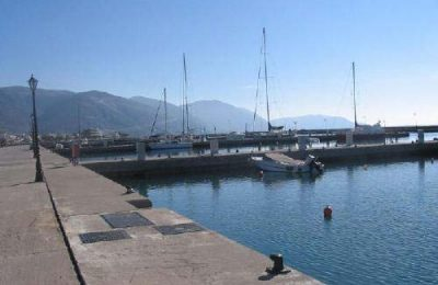 Itea, view of the marina. Photo © former Municipality of Itea