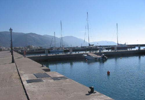 Itea, view of the marina. Photo © former Municipality of Itea