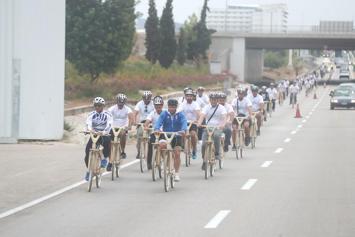 KLM bike ride