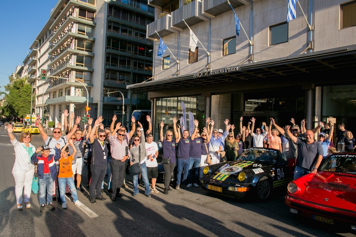 The Good Ride >> Njv Athens Plaza Hotel Supports The Good Ride For The Kids