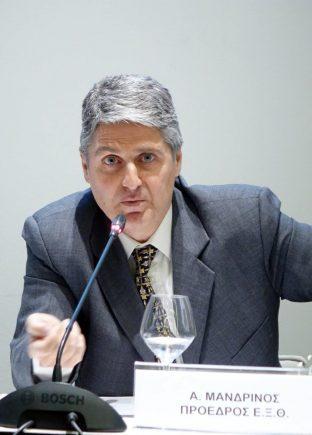 Andreas Mandrinos, President Thessaloniki Hotels Association