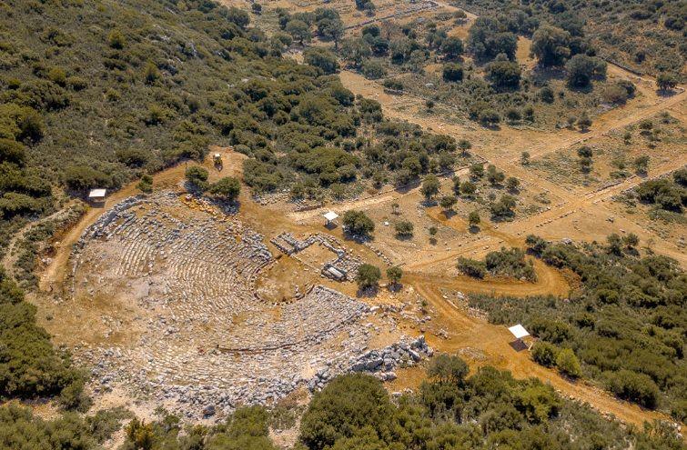 Archaeological site of Kassopi, Regional Unit of Preveza.