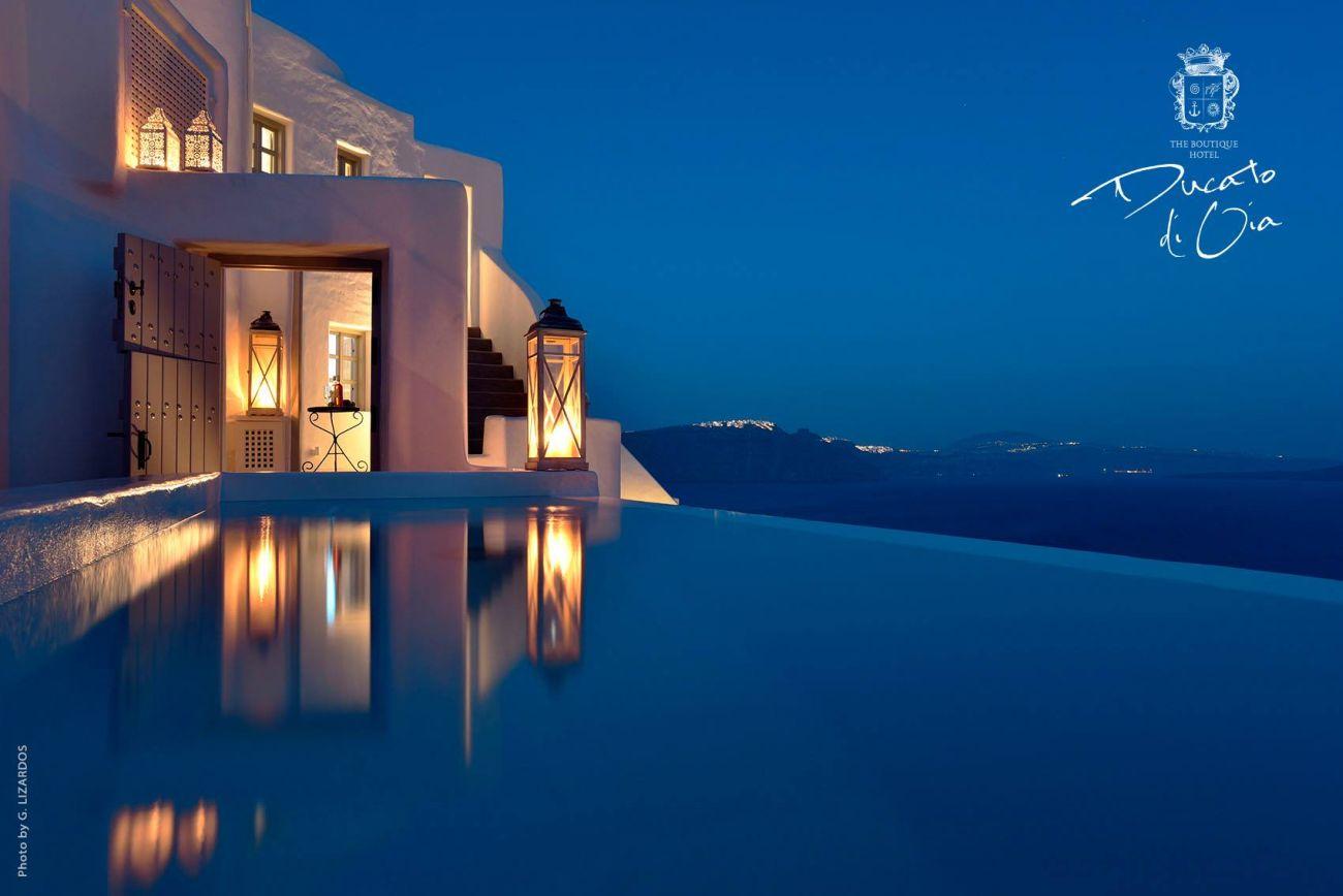 The Ducato di Oia on Santorini is managed by Kihli Hotel Enterprises.