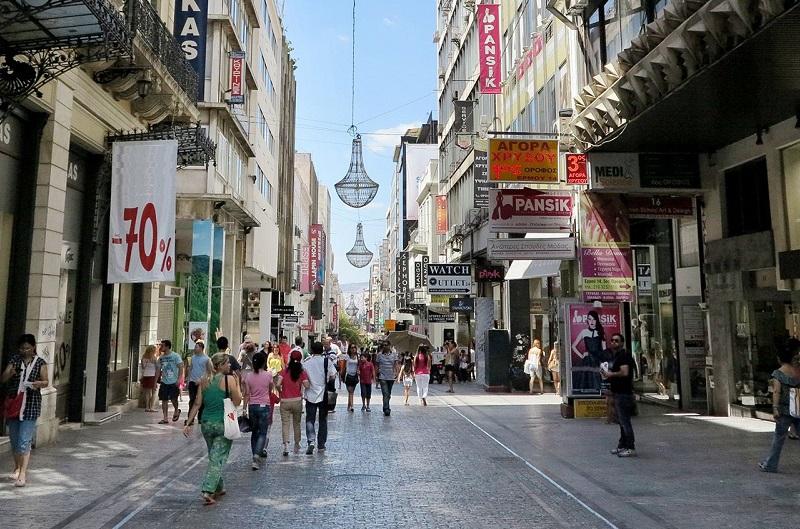 Ermou street, Athens. Photo Source: athensattica.com/