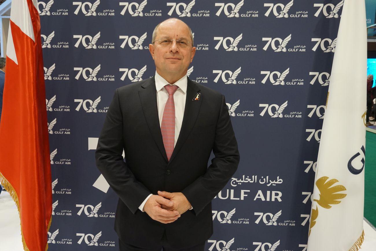 Gulf Air CEO Krešimir Kučko. Photo © GTP