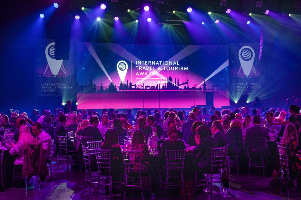 International Travel & Tourism Awards 2019, London.