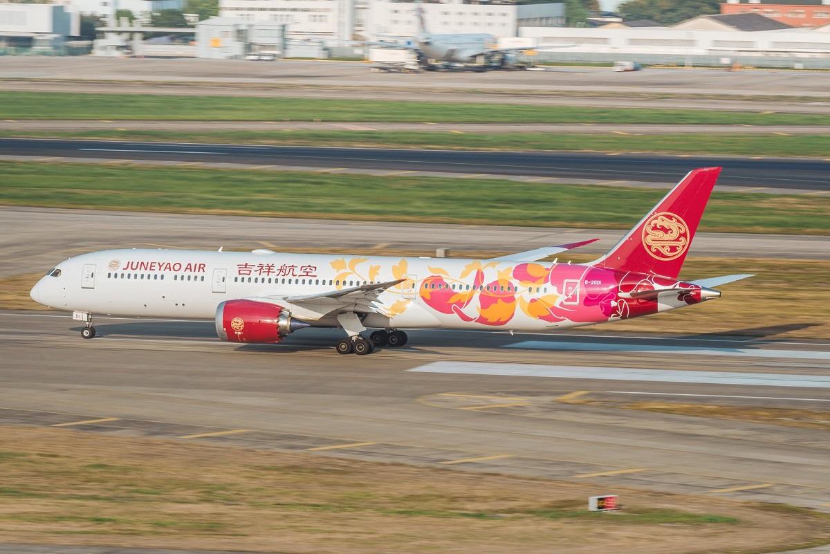 Juneyao Air aircraft