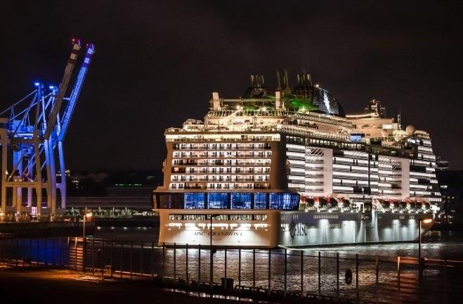MSC Cruises Names New Ship 'Grandiosa', Ready to Sail the ...