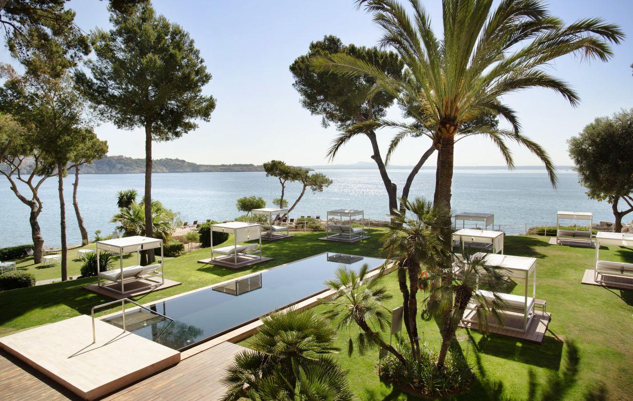 Adults-only resort Gran Meliá de Mar in Mallorca by Melia Hotels International.