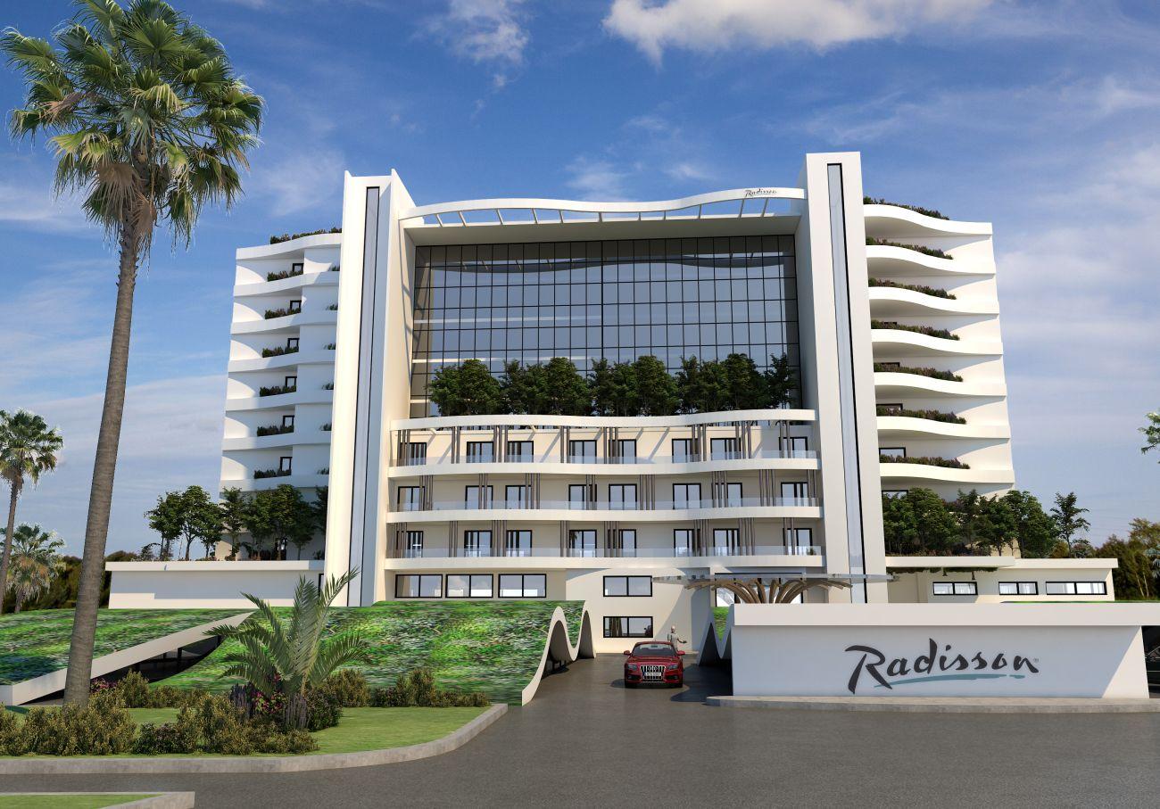 Radisson Larnaca Beach Resort.