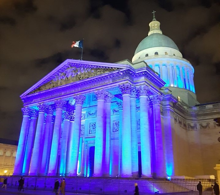 The Pantheon in France. Photo Source: @UNICEF