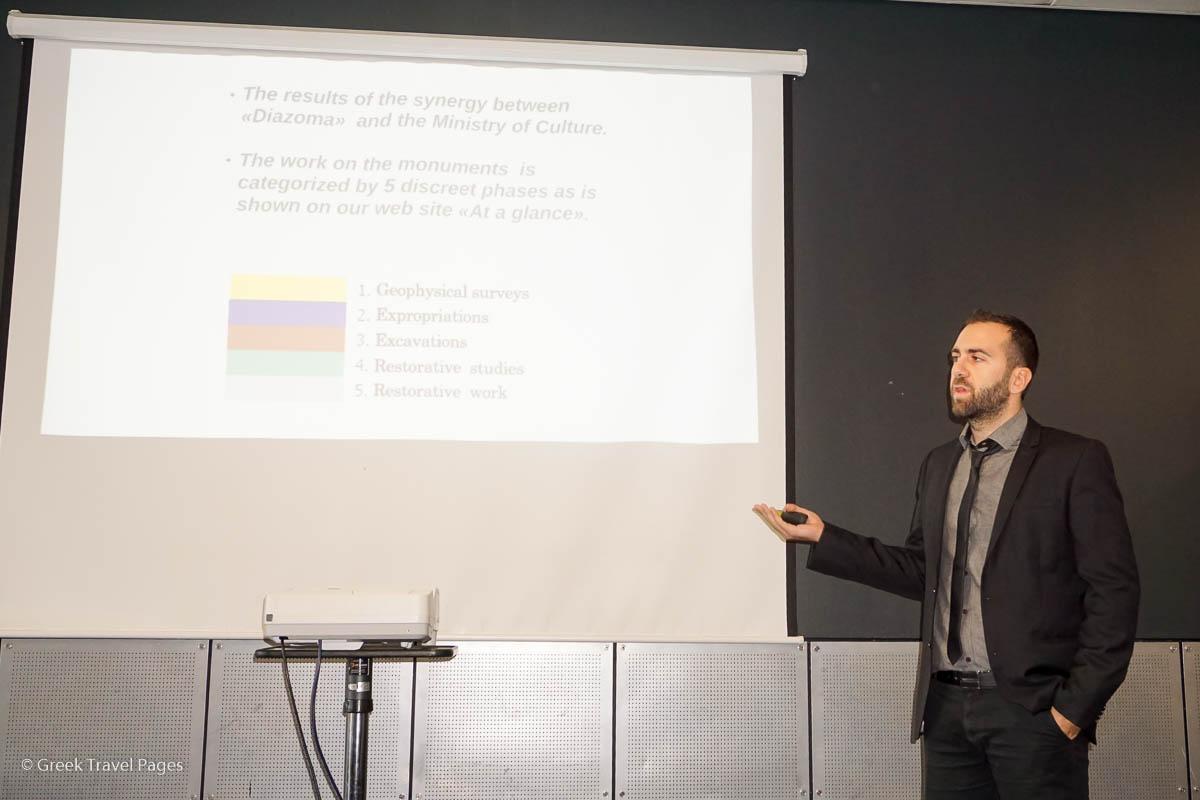 Diazoma Program Manager Evdokimos Fregoglou.