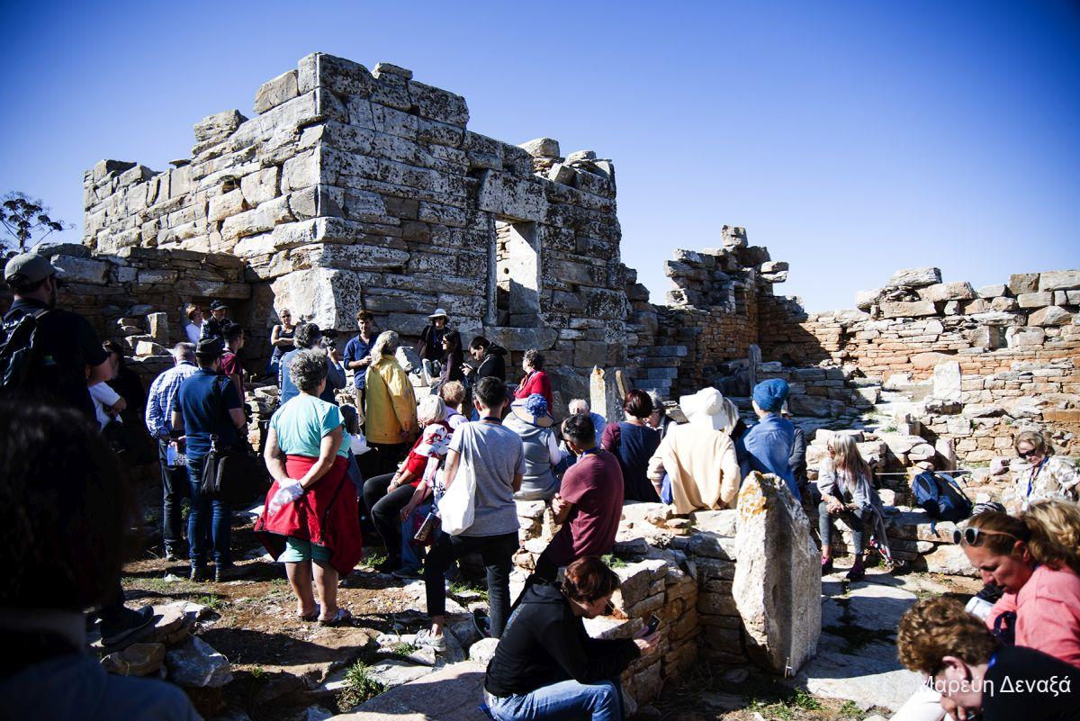 Speech of Lonais Jallais at Agia Triada Hellenist Tower