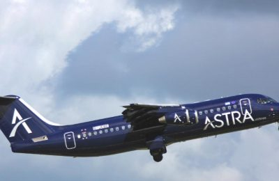 Astra Airlines aircraft