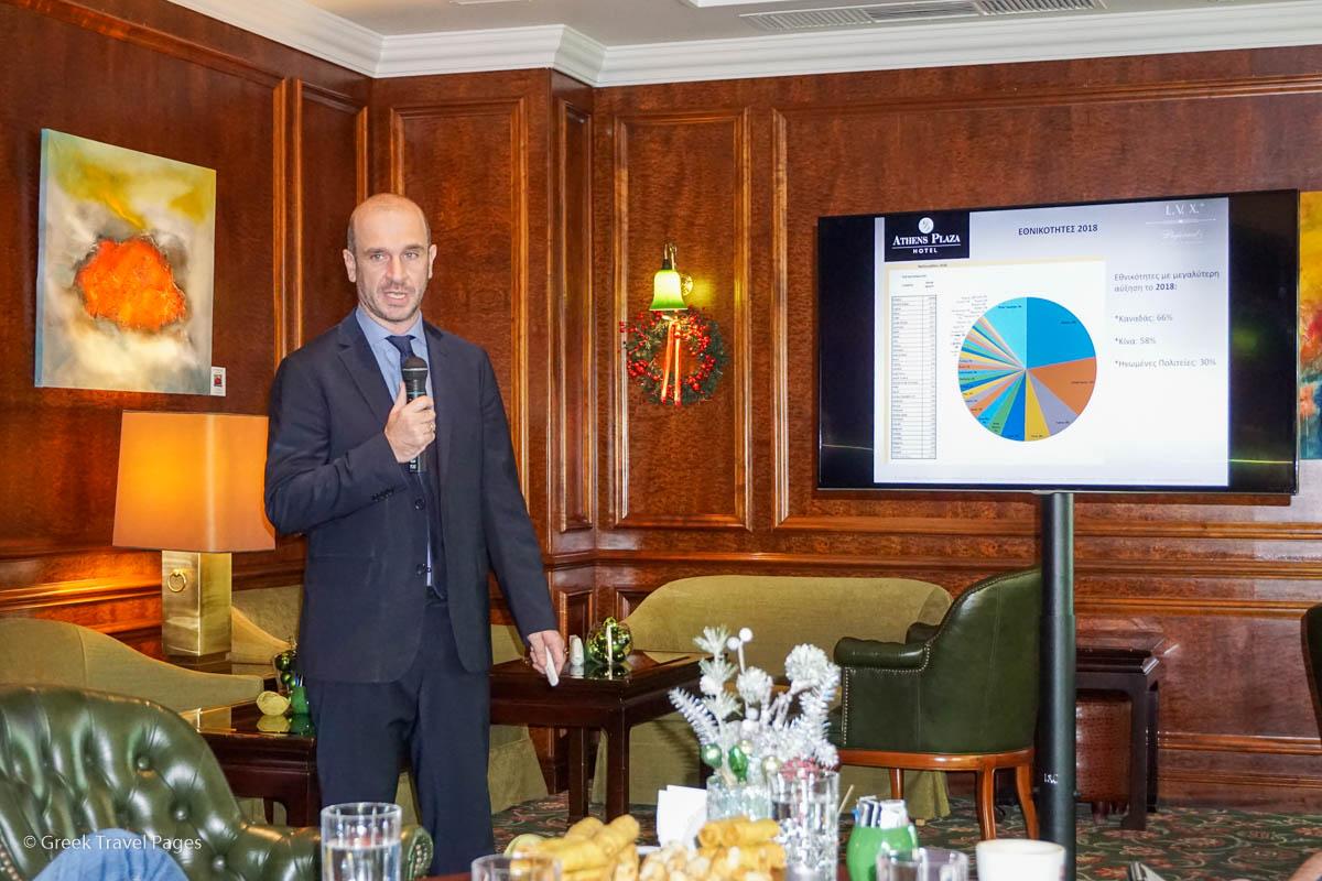 NJV Athens Plaza Account Director Dimitris Sklavenitis.