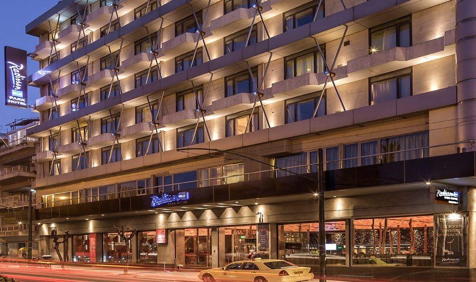 Radisson Blu Park Hotel in Athens.