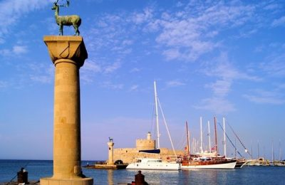Rhodes, Greece.