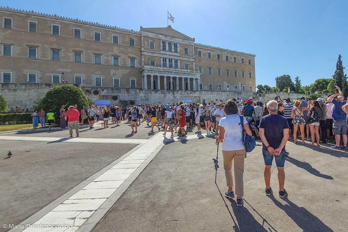 Hellenic Parliament, Athens. Photo © Maria Theofanopoulou