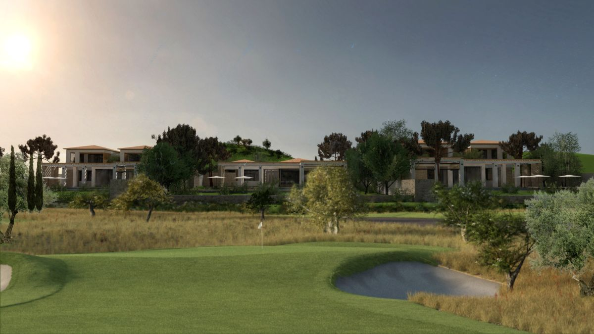 Impression of the Kilada Hills golf club.