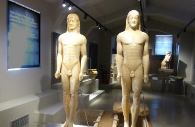 Kouroi, museums