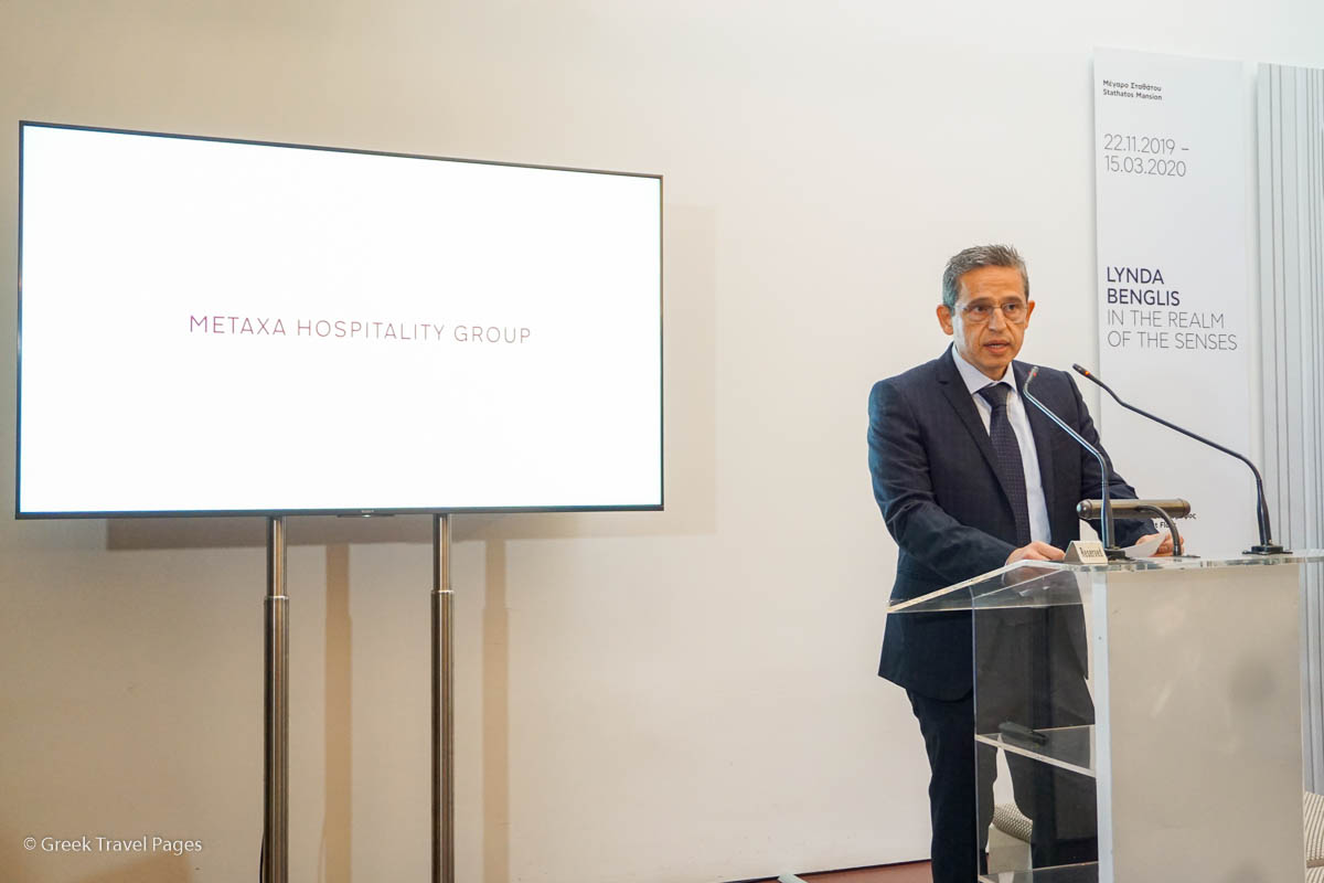Metaxa Hospitality Group President and CEO Andreas Metaxas.
