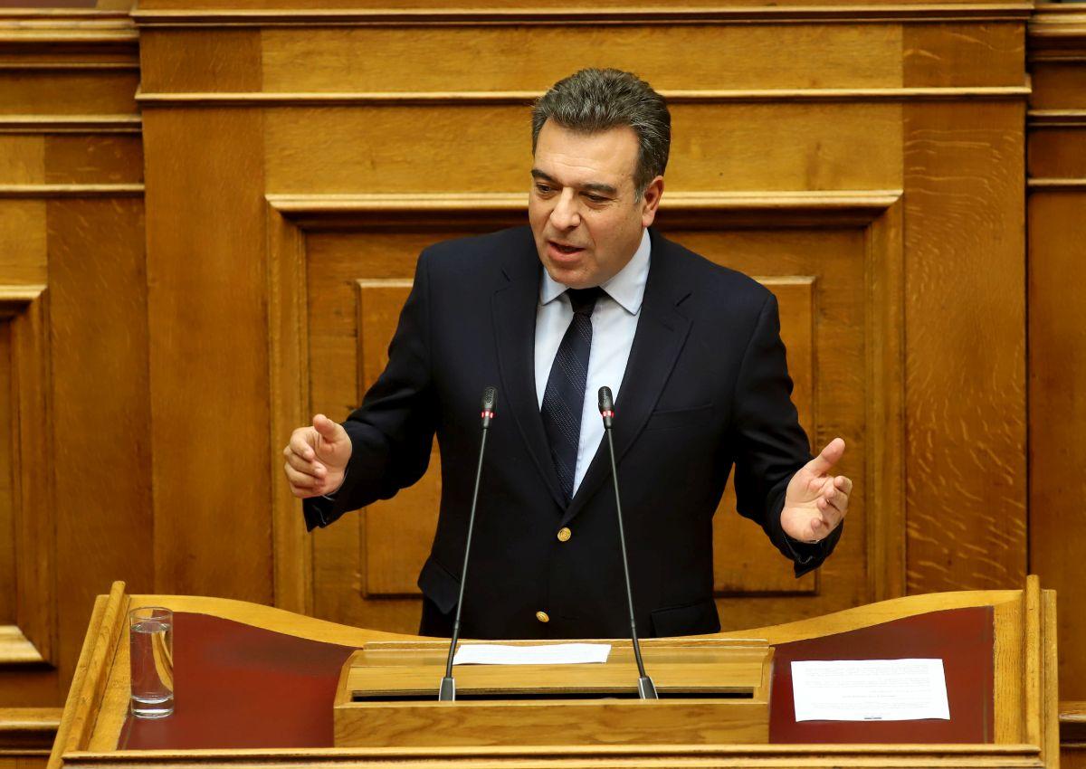 Greek Deputy Minister of Tourism Manos Konsolas.