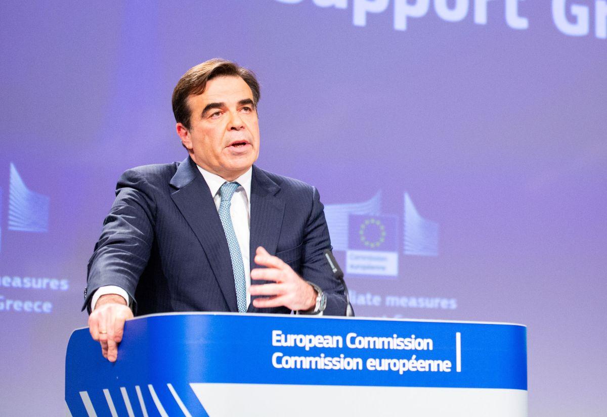 European Commission Vice President Margaritis Schinas. Photo source: @MargSchinas