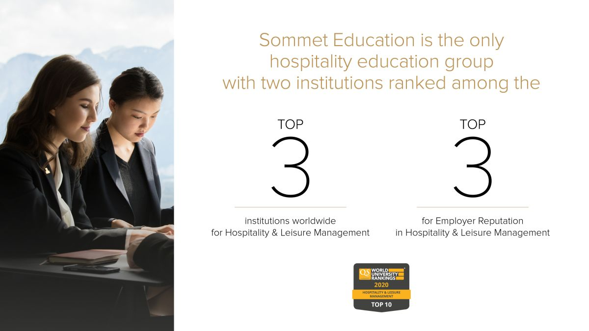 Glion And Les Roches Rank In World S Top Three In Hospitality And Leisure Management Gtp Headlines