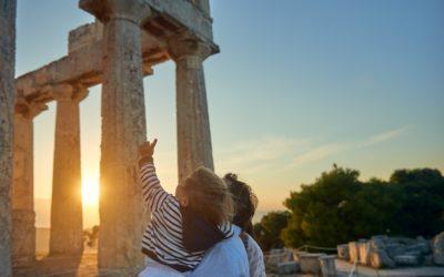 Aegina Temple of Aphaia. Photo source: Region of Attica