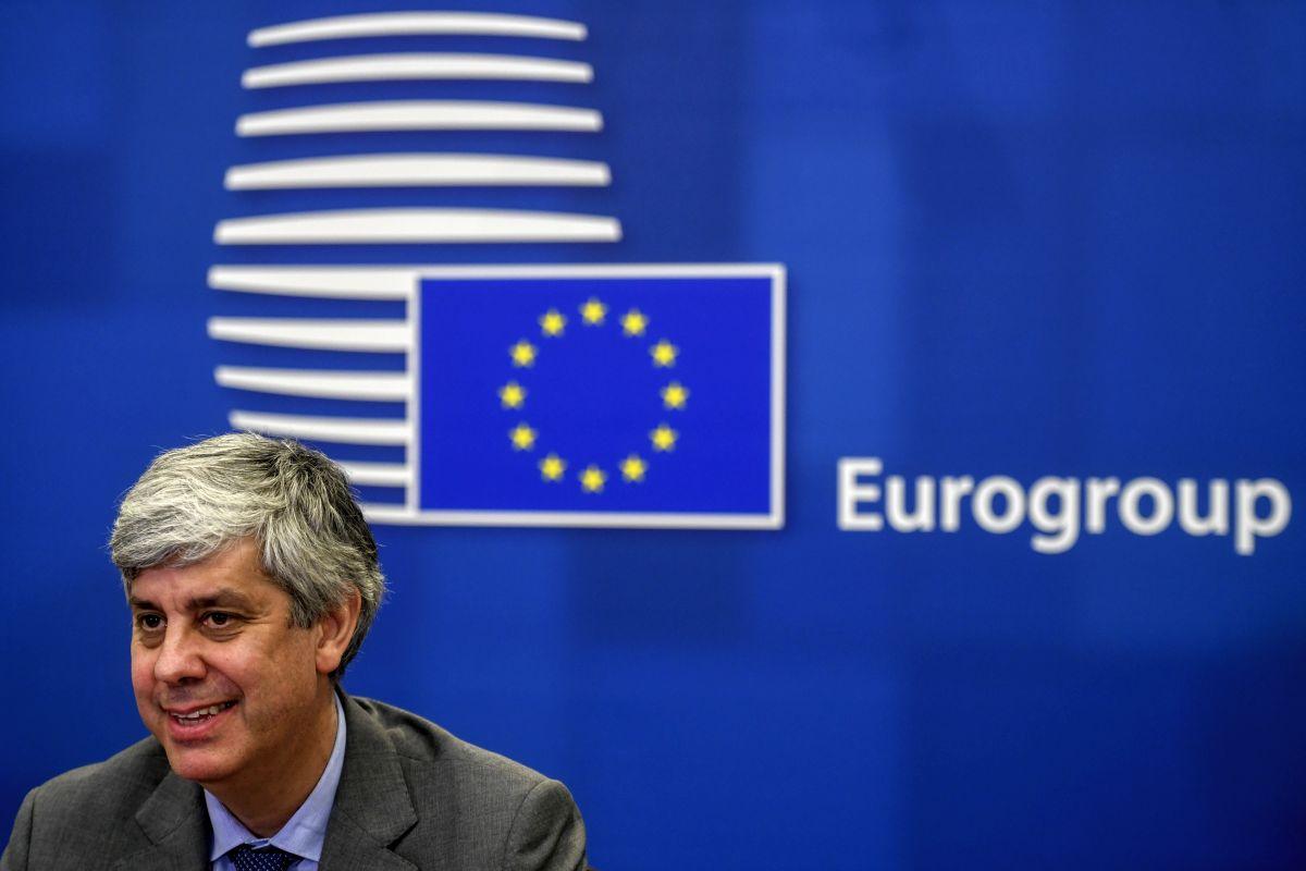 Eurogroup President Mario Centeno.