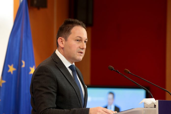 Greek Government Spokesman Stelios Petsas. Photo source: media.gov.gr