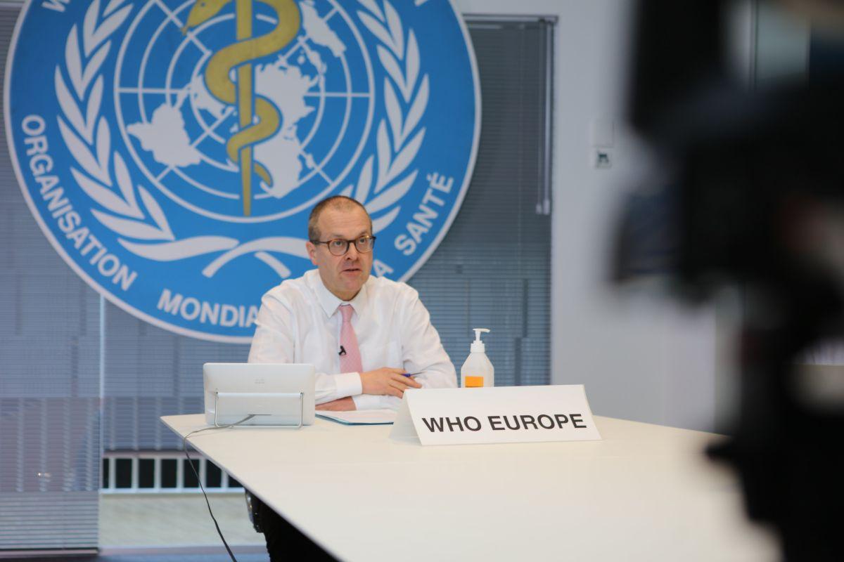 Dr Hans Henri P. Kluge, WHO Regional Director for Europe.