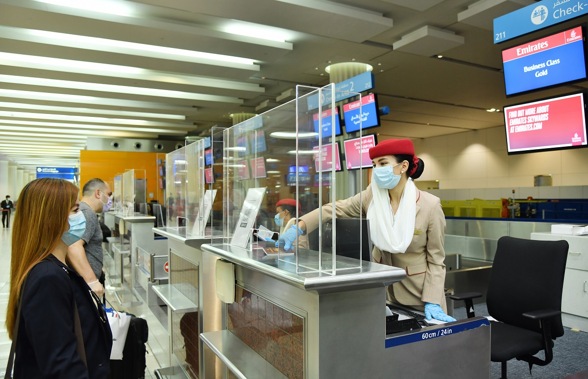 The airport team has also installed protective barriers at each check-in desk and immigration counter to provide additional safety reassurance to passengers and employees during interaction over the counter.