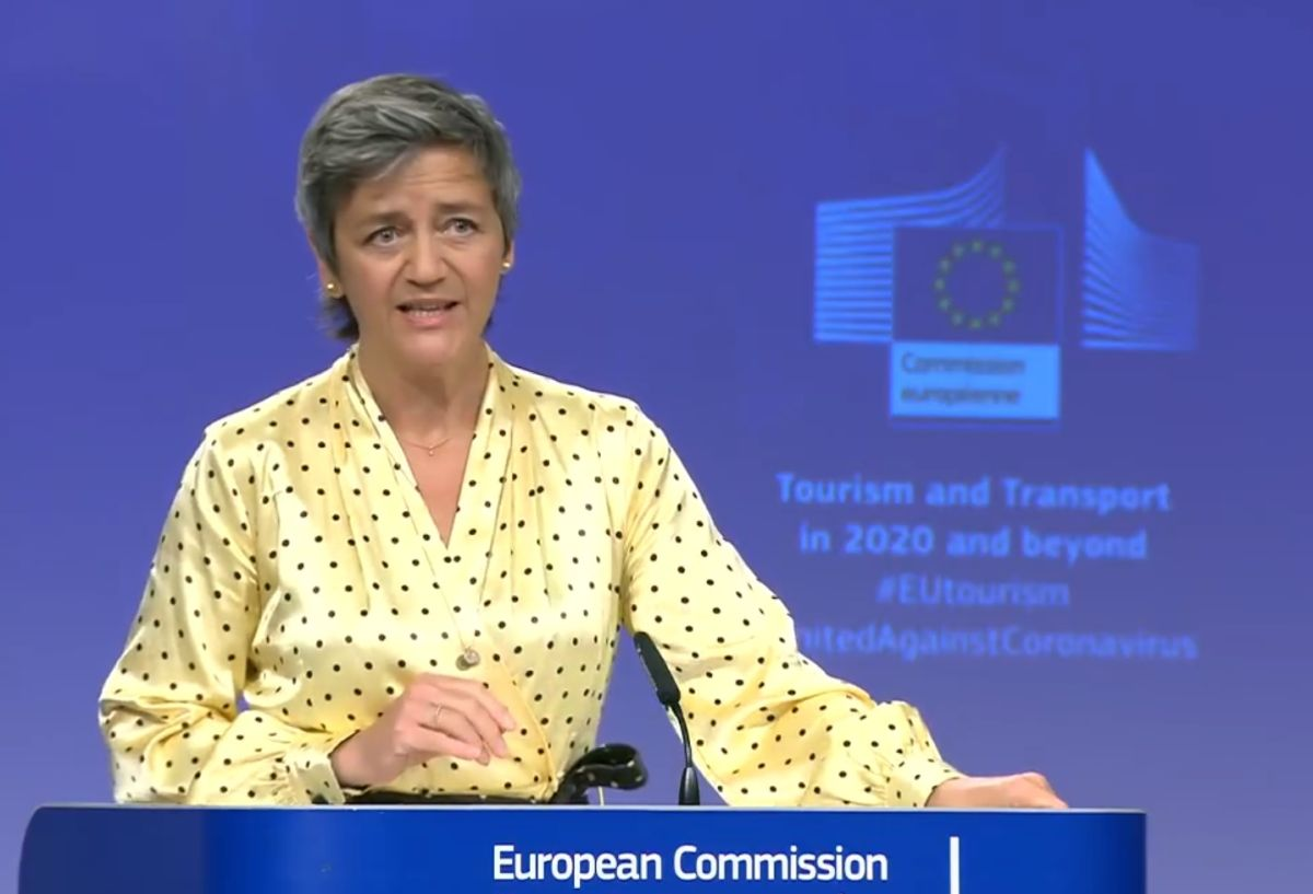 European Commission Executive Vice-President Margrethe Vestager.