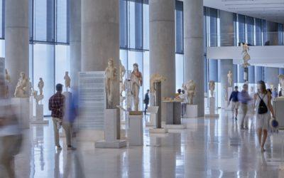 Η Αίθουσα της Αρχαϊκής Ακρόπολης © Μουσείο Ακρόπολης. Φωτογραφία Γιώργος Βιτσαρόπουλος