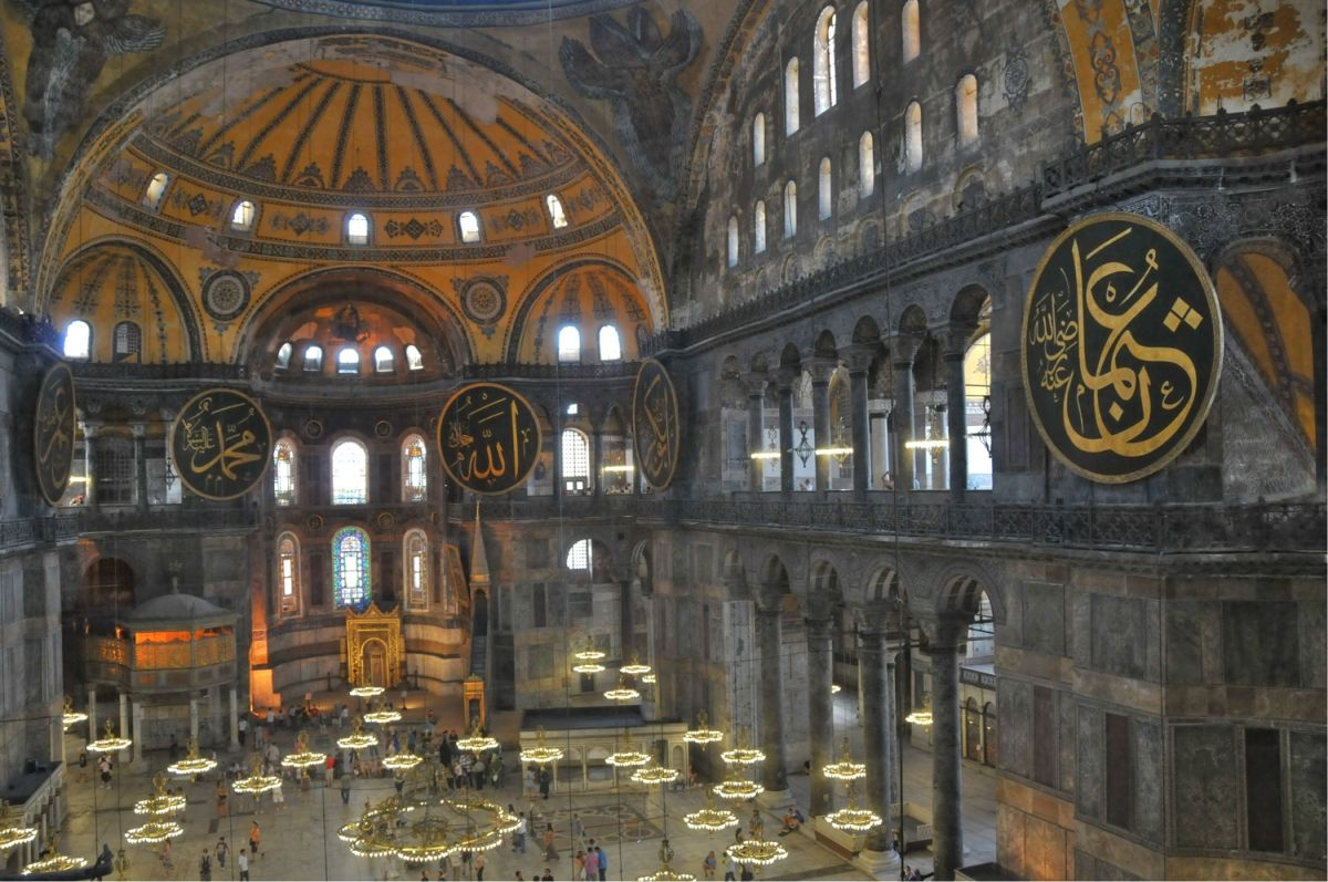 The Hagia Sofia in Istanbul. Photo © Greek Culture Ministry