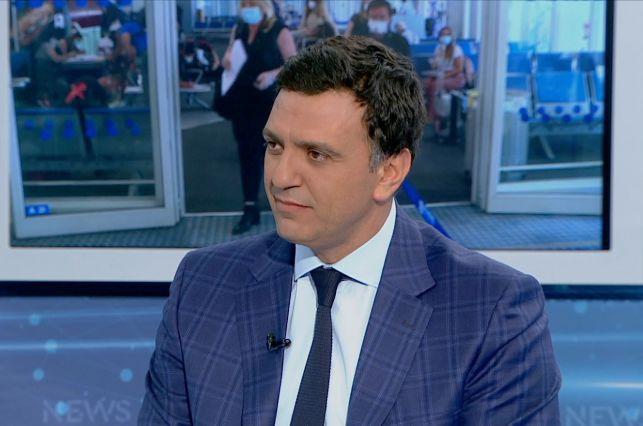 Greek Health Minister Vassilis Kikilias.
