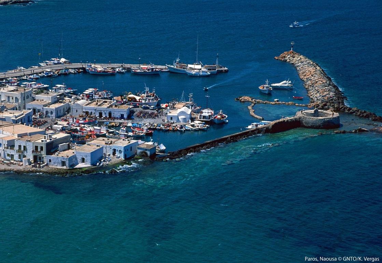 Naoussa, Paros. Photo: Visit Greece / K. Vergas
