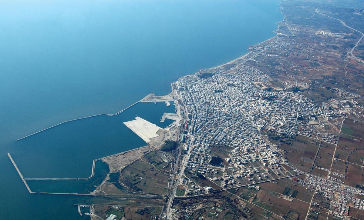 Alexandroupolis Port. Photo source: HRADF