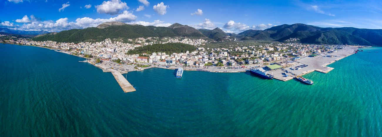 Igoumenitsa Port. Photo source: HRADF