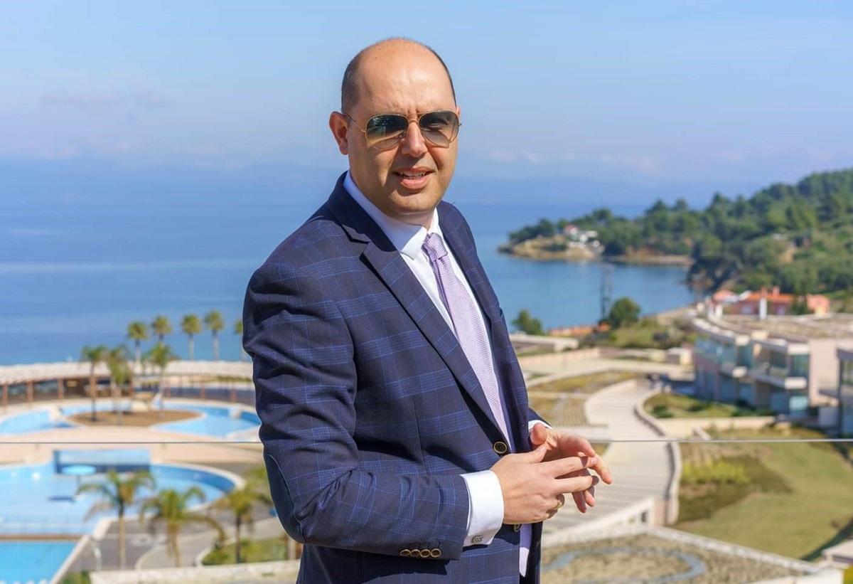 Konstantinos Tzikopoulos, GM of Miraggio Thermal Spa Resort.
