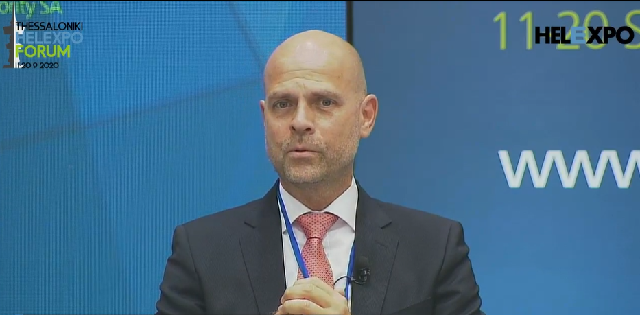 Fraport Greece CEO Alexander Zinell.