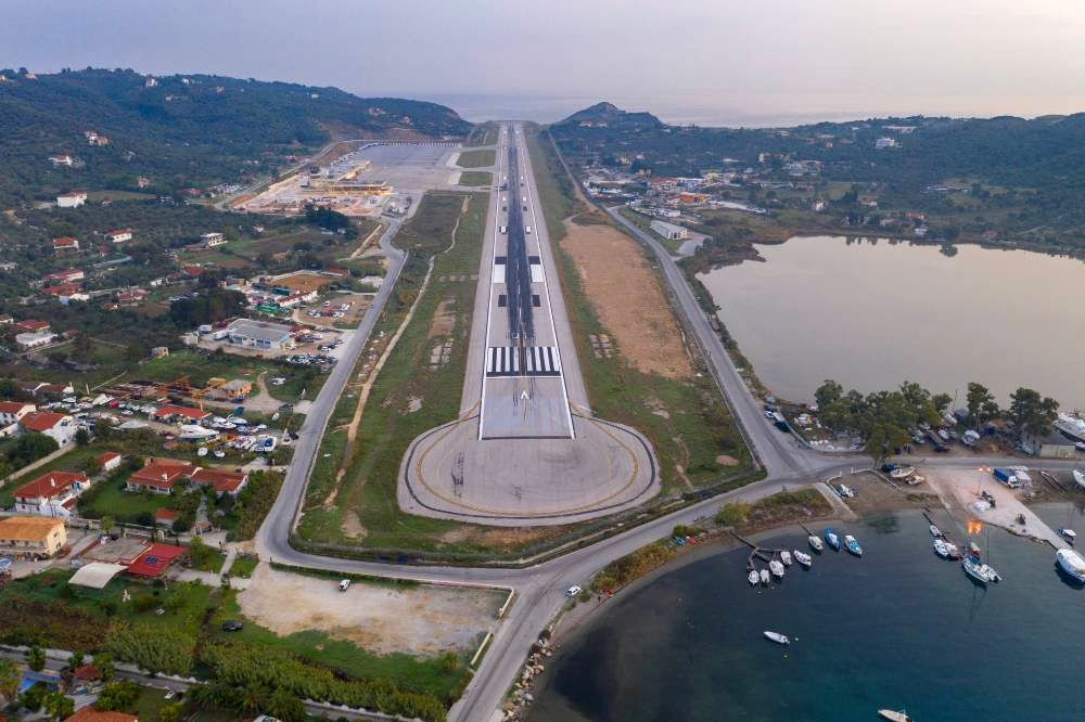 Skiathos Airport. Photo source: Skiathos Greece