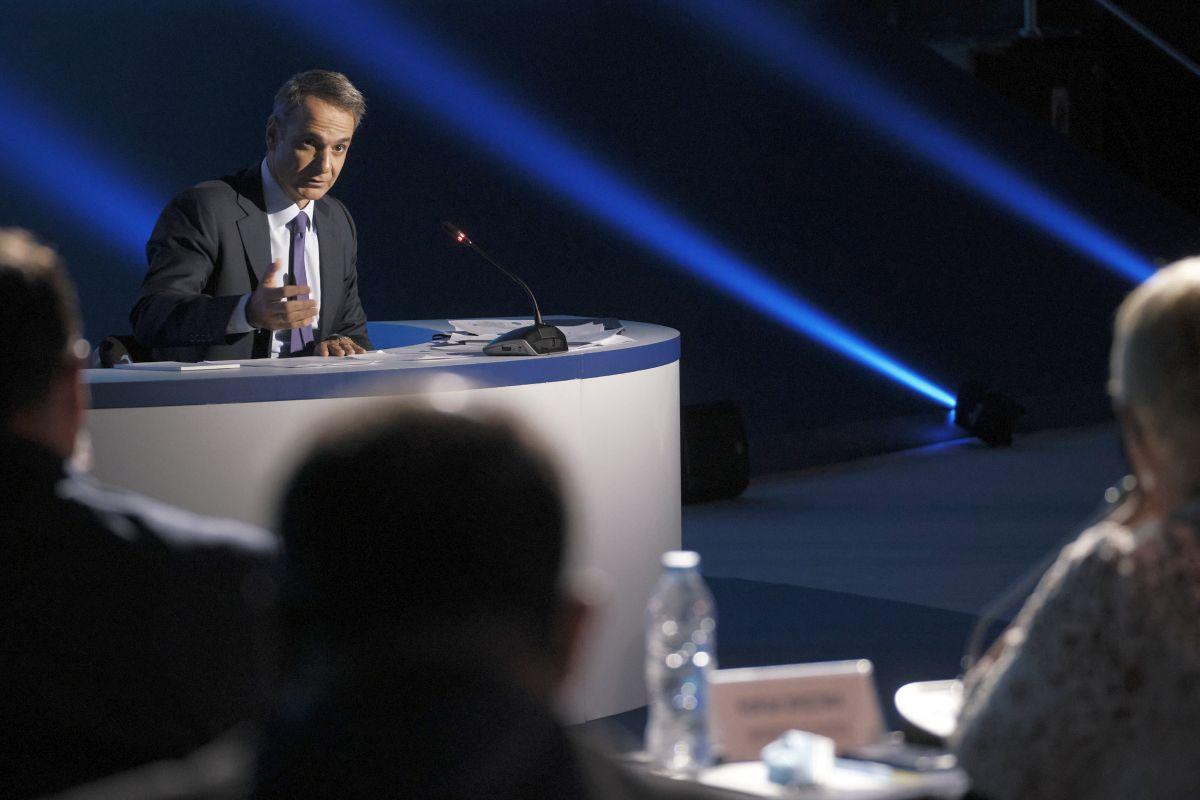 Greek Prime Minister Kyriakos Mitsotakis. Photo Source @PrimeMinisterGR