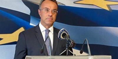 Greek Finance Minister Christos Staikouras.