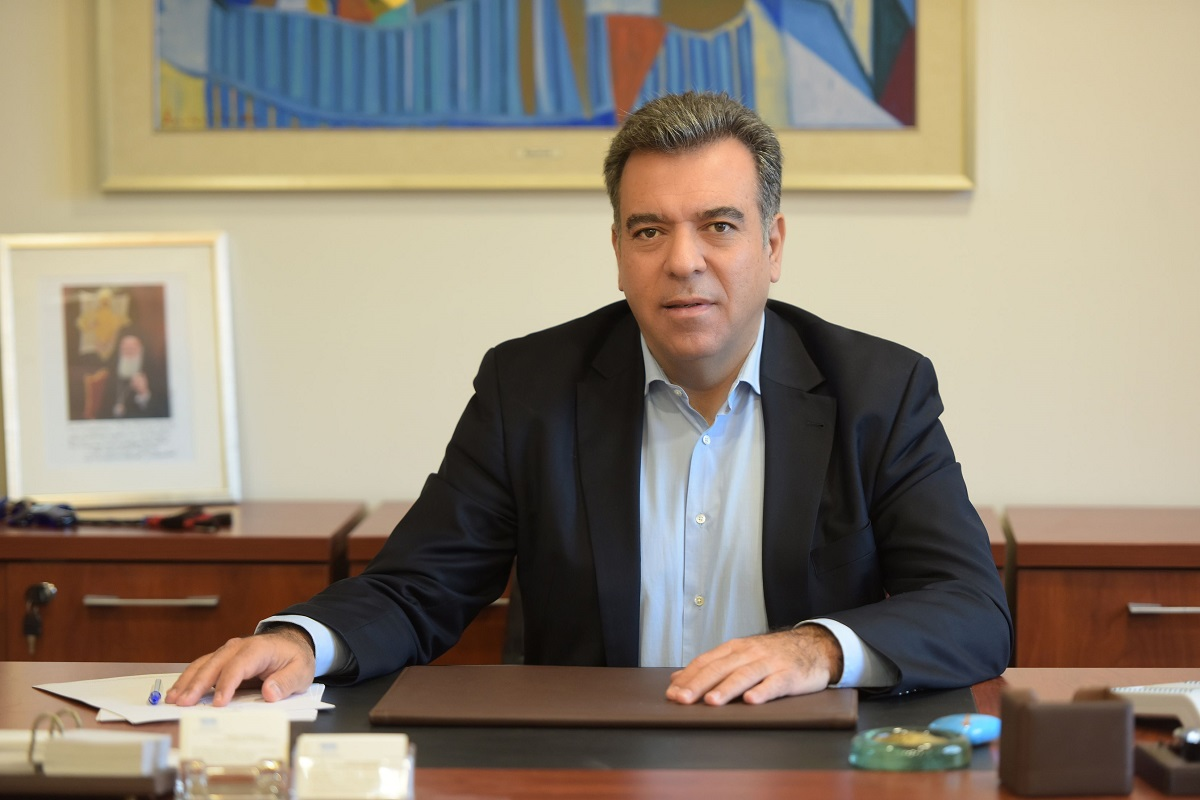Deputy Tourism Minister Manos Konsolas