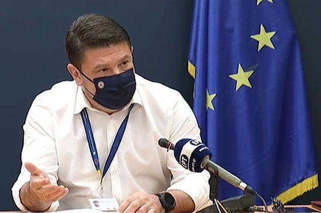 Greek Civil Protection Deputy Minister Nikos Hardalias.