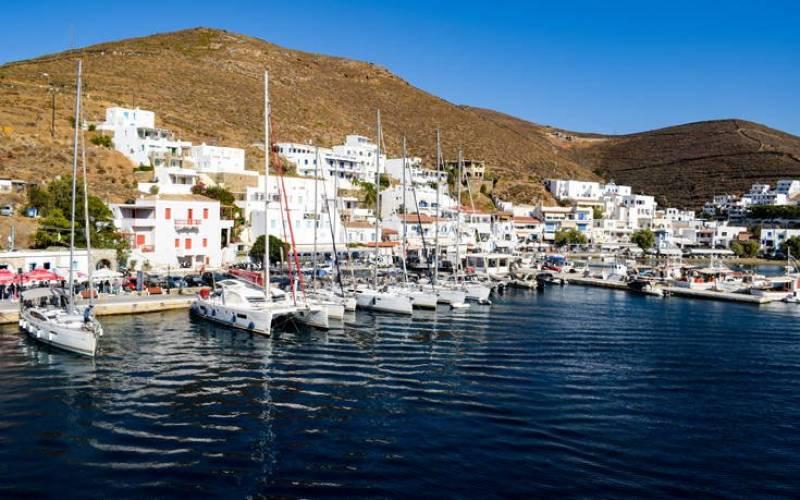 Kythnos Island, Greece. Photo source: General Secretariat for Civil Protection